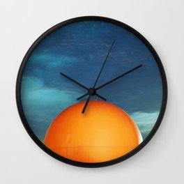 Gibeau Orange Julep Wall Clock
