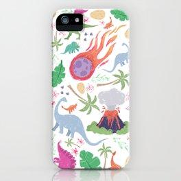 ispy Dinosaurs iPhone Case