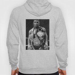 Mike Tyson Pencil Drawing Hoody