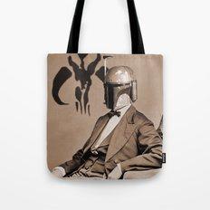 Portrait of Sir Fett Tote Bag
