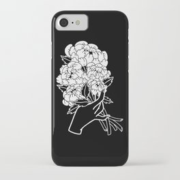 Peony Floral Bouquet iPhone Case