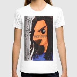 Hen-Dog #001_ Blue Redesign T-shirt