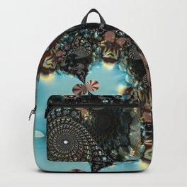 Shadow Blues Fractal Backpack