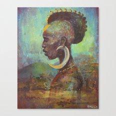 Africa Son Canvas Print