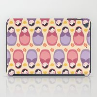 russian iPad Cases featuring Russian Dolls by ItsJessica