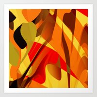 spice Art Prints featuring pumpkin spice by David Mark Lane