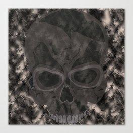 Abstract,Skull Canvas Print