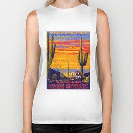 Saguaro National Monument Biker Tank