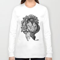 red riding hood Long Sleeve T-shirts featuring Riding Hood by FLORA+FAUNA