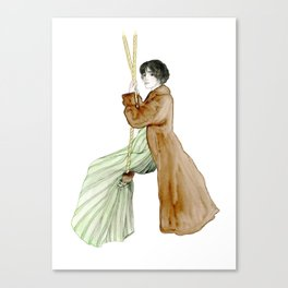 swinging pride and prejudice Canvas Print