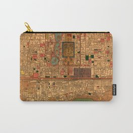 Map Of Peking 1914 Carry-All Pouch