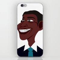 obama iPhone & iPod Skins featuring OBAMA by artic