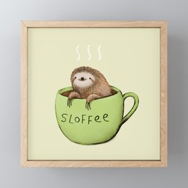 Sloffee Framed Mini Art Print