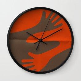 A·BRAZO - HUG Wall Clock