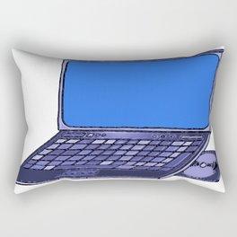 Laptop  Rectangular Pillow