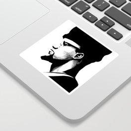 Malik El-Shabazz Sticker