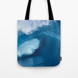 Teahupoo Tahiti Perfect Barrel Tote Bag