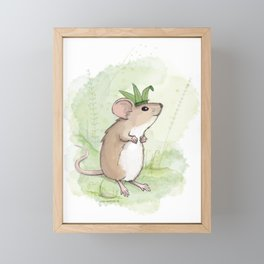 A Little Mouse Prince Named Reed Framed Mini Art Print