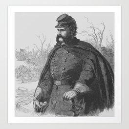 General Ambrose Burnside Art Print
