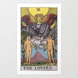 06 - The Lovers Art Print