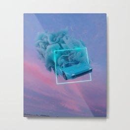 TimeSpace Metal Print