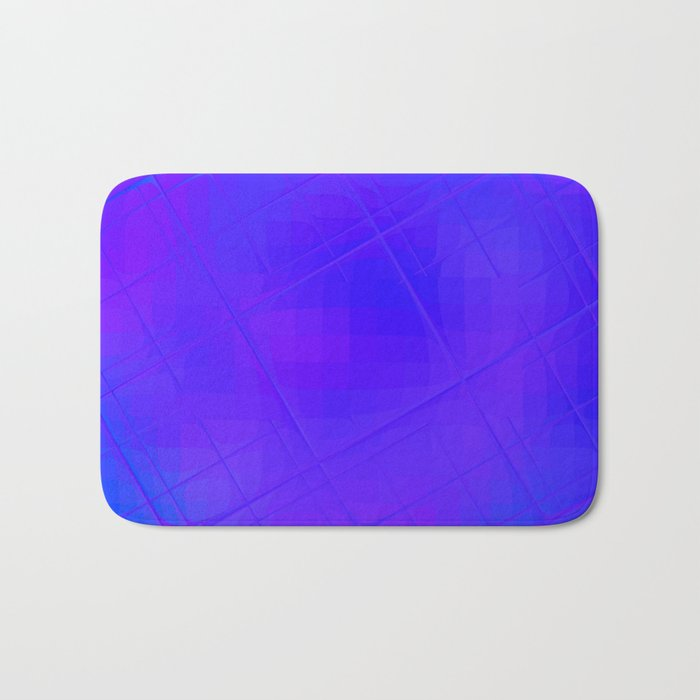 Re-Created Twisted SQ XVII by Robert S. Lee Bath Mat