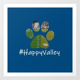 #HappyValley Art Print