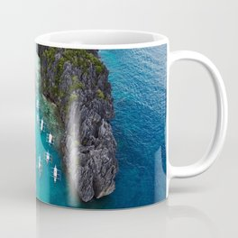 Island hopping in the Philippines Coffee Mug