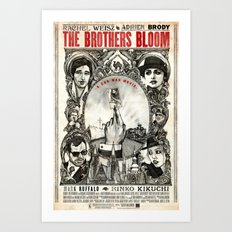 The Brothers Bloom Art Print