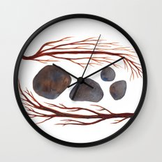 Sticks & Stones No. 2 Wall Clock