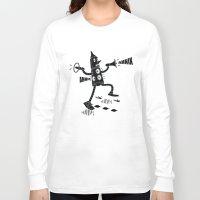 propaganda Long Sleeve T-shirts featuring Propaganda Bot by Ahnix