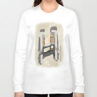 star lord Long Sleeve T-shirts featuring STAR LORD - PETER QUILL by LindseyCowley