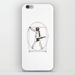 Guitar Man and Da Vinci iPhone Skin