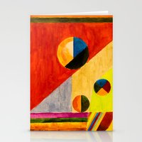 kandinsky Stationery Cards featuring BALANCE by THE USUAL DESIGNERS