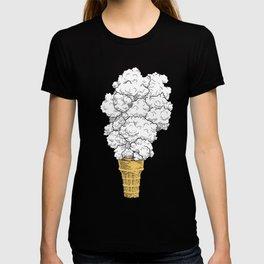 Volcano ice cream T-shirt
