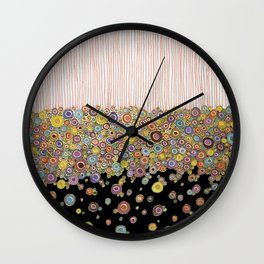 Suspending the Dots Wall Clock