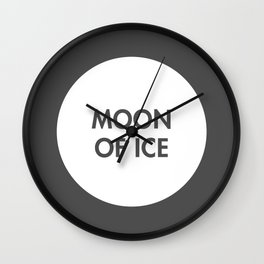 Moon of Ice (Celtic) Wall Clock