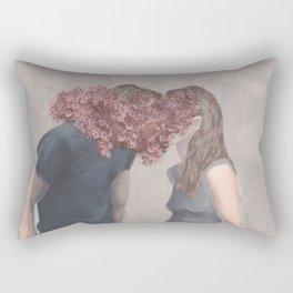 Keeping Secrets Rectangular Pillow