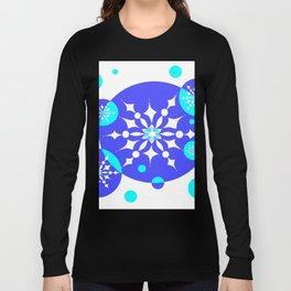 A Delightful Winter Snow Design Long Sleeve T-shirt