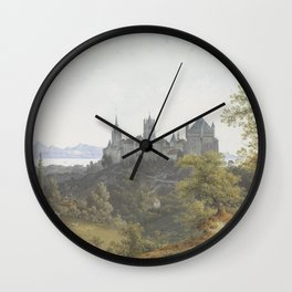 View of Lausanne Wall Clock