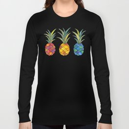 Pineapples Long Sleeve T-shirt