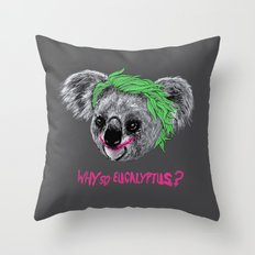 The Koaler Throw Pillow