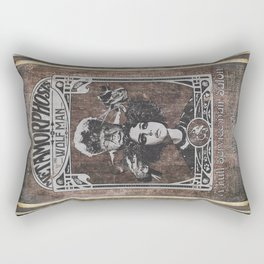 Metamorphosis by The Wolf Man: A Full Service Hair Salon (Aged Postcard) Rectangular Pillow