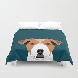 Bailey - Jack Russell Terrier phone case art print gift for dog people Jack Russell Terrier owners Duvet Cover