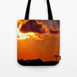 Costa Rica sunset Tote Bag
