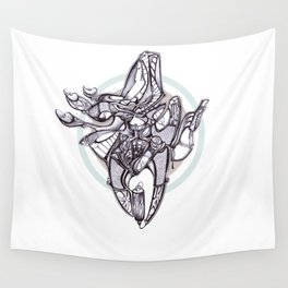 Assembly line Wall Tapestry