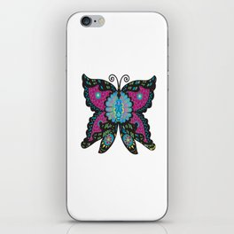 PSYCHEDELIC BUTTERFLY  iPhone Skin