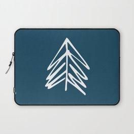 Pacific Northwest Evergreen   In Indigo Laptop Sleeve