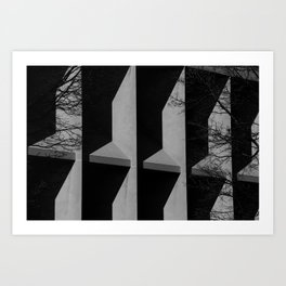 untitled abstraction Art Print