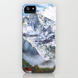 Jungfrau mountain. Swiss Alps iPhone Case